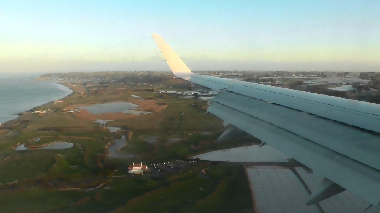 more photos edca6 da36e [INFLIGHT] Flybe Embraer 175 G-FBJH Landing at Jersey Airport