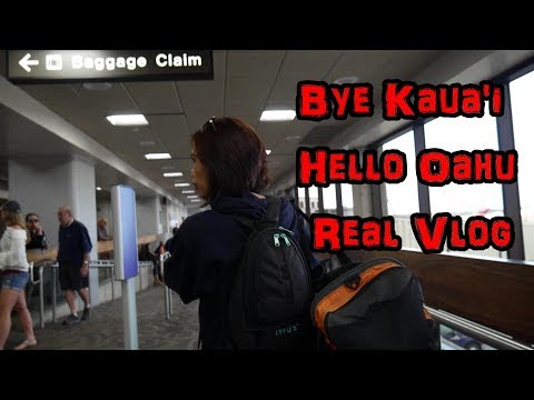 Traveling from Kauai to Oahu | Our simple life in Hawaii paradise | Honolulu | Lihue Airport | HI