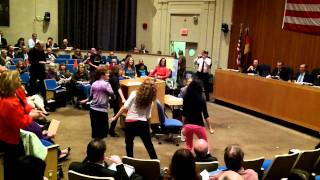 Huntington NY Town Board Flash Mob 10-11-11