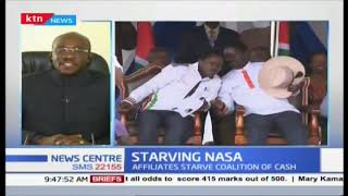 What is the fate of NASA after Wiper and ODM withdrew funds?
