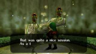 "Legend of Zelda Ocarina of Time Walkthrough 03 (3/5) ""Saria"