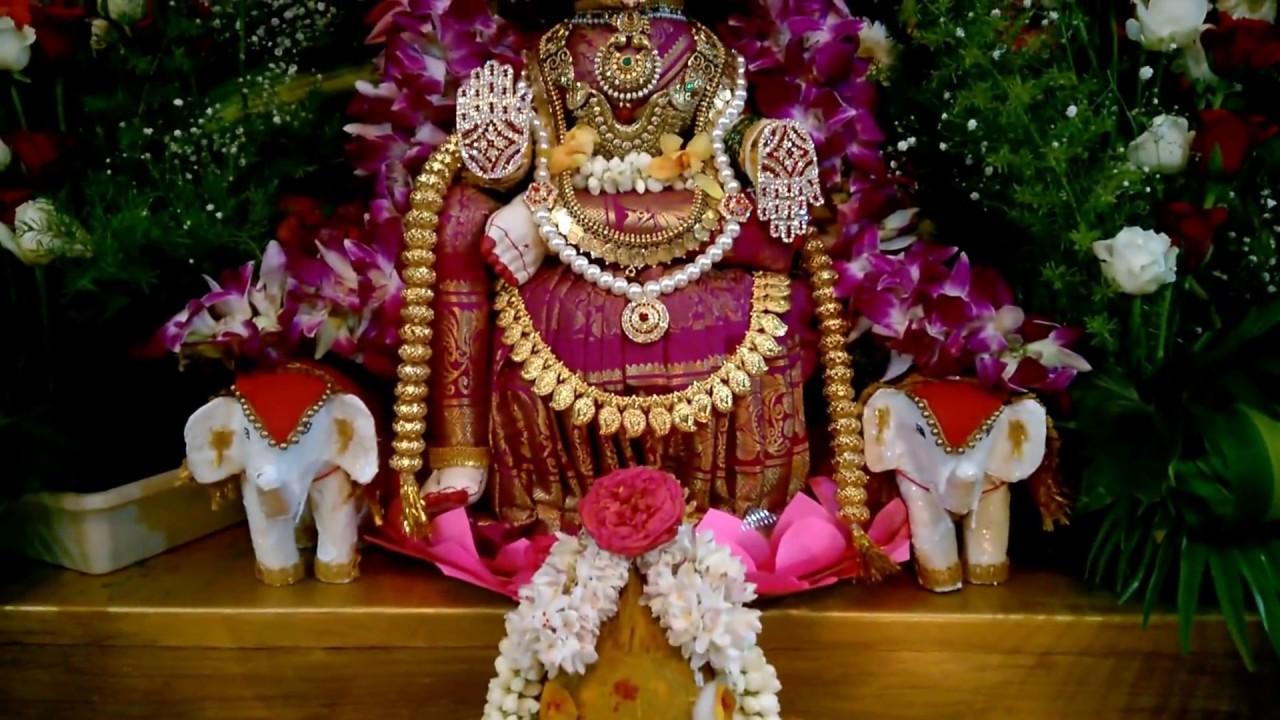 Varamahalakshmi 2015 Home Decor Youtube