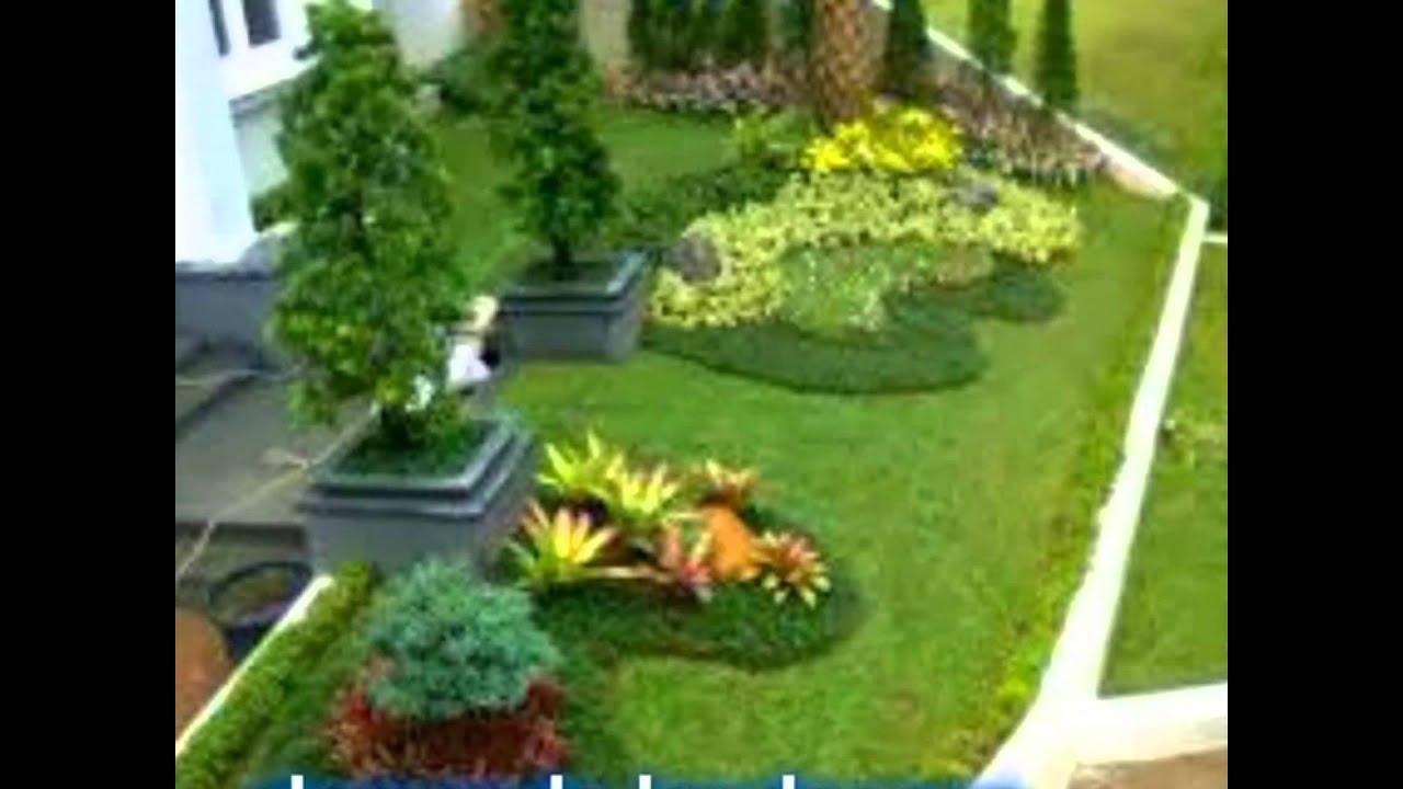 Taman Rumah Kantor Villa Dll Youtube