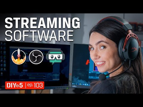Live Streaming Tips - Best Live Streaming Software - DIY In 5 Ep 103