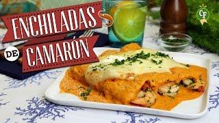 ¿cómo Preparar Enchiladas De Camarón En Salsa Roja? - Cocina Fresca