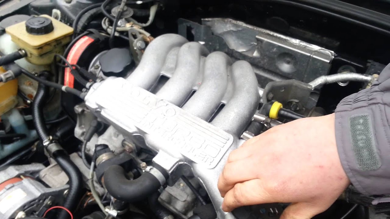 volvo 480 turbo exhaust