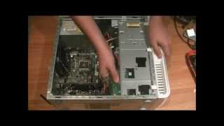 How to change a computer's hard drive