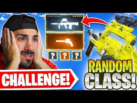 Using a RANDOM CLASS in Warzone! 😳 *BAD IDEA*