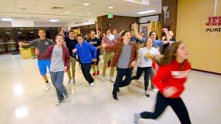 Jeff High School Radio & TV Lip Dub 2015 - Uptown Funk