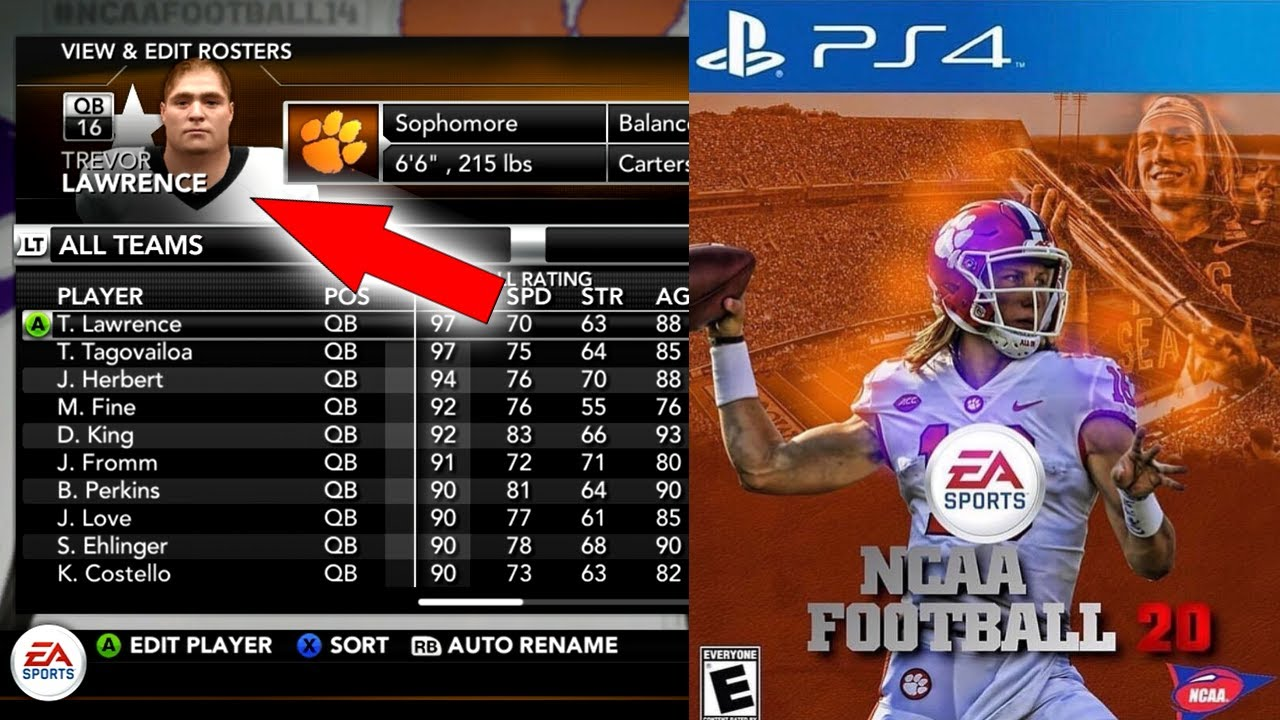 NCAA Football 14: How to Update Rosters to 2019 - 2020 ...