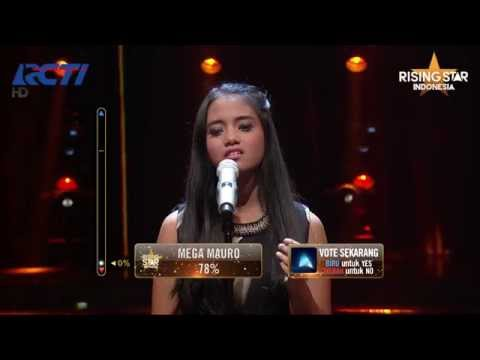 "Hanin Dhiya ""Somewhere Over The Rainbow"" Judy Garland - Rising Star Indonesia Super 9 Eps 19"