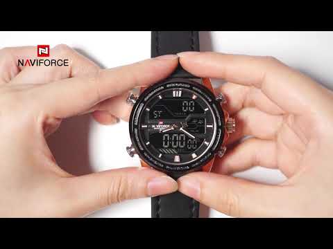 NAVIFORCE NF9138 how to adjust the multifunctional mode?(clear version)