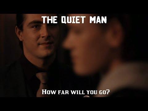 when a man goes quiet
