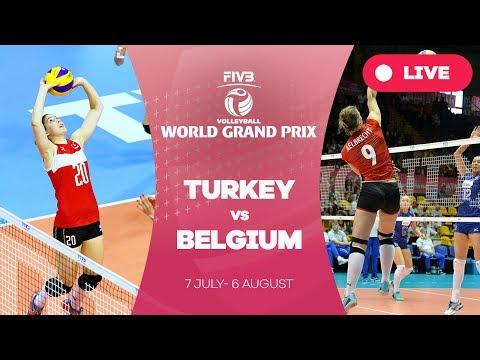 Turkey v Belgium - Group 1: 2017 FIVB Volleyball World Grand Prix
