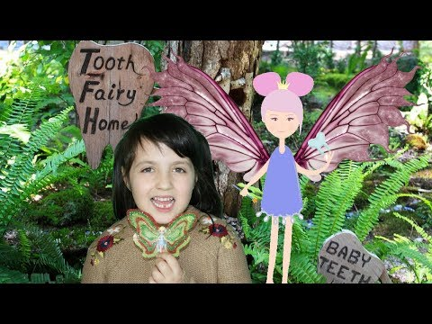 Подарки для Зубной Феи 🧚 DIY Tooth Fairy Wings and Shrinking funny Girl Magic