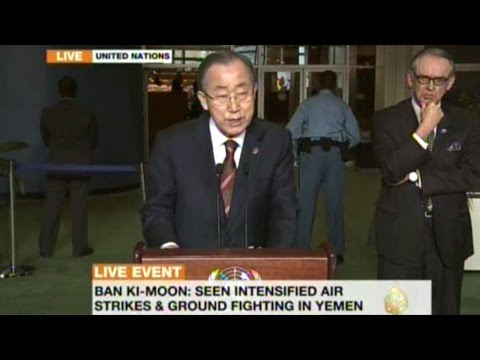 Ban-Ki Moon Accuses ALL SIDES Of War Crimes On The Syrian People