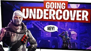 Going Undercover in Duos! - Getting People their First Win - Fortnite Fun