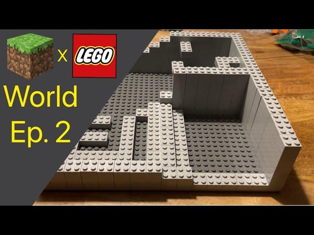 LEGO® X Minecraft World #2 - Die Unterkonstruktion ist unter Konstruktion..