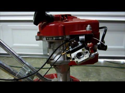 Mantis Tiller Model 7222M with SV-5C1 Engine Part II -- Carburetor ...