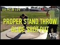 SHOT PUT | GLIDE TECHNIQUE: SETTING UP A POWERFUL STAND THROW : ARETE THROWS NATION