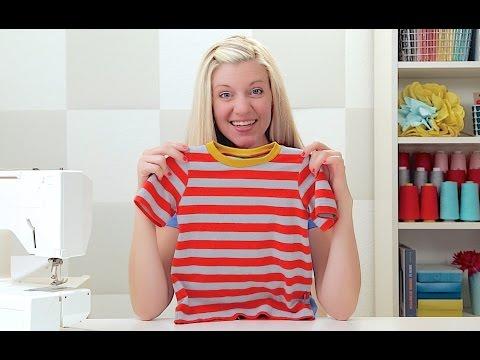ロックミシンがなくてもOK!Tシャツを作っちゃおう!