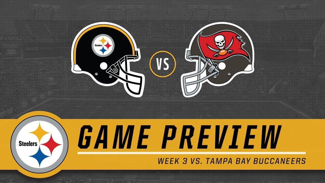 2defbcc3 Week 3: Pittsburgh Steelers vs. Tampa Bay Buccaneers | Game Preview