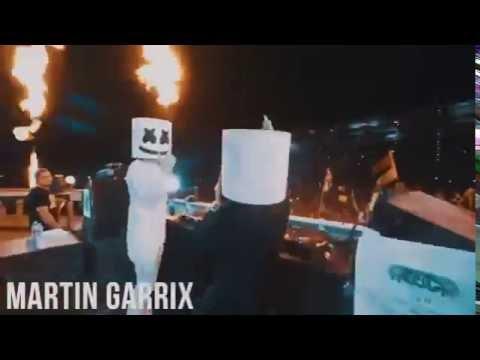 Marshmello se revela    EDC Las Vegas 2016 & Martin Garrix   Skrillex   Ookay   Jauz  