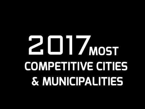 TOP 10 HIGHLY URBANIZED CITY  CATEGORY - 2017 MOST COMPETITIVE CITIES & MUNICIPALITIES IN PH  I  HD