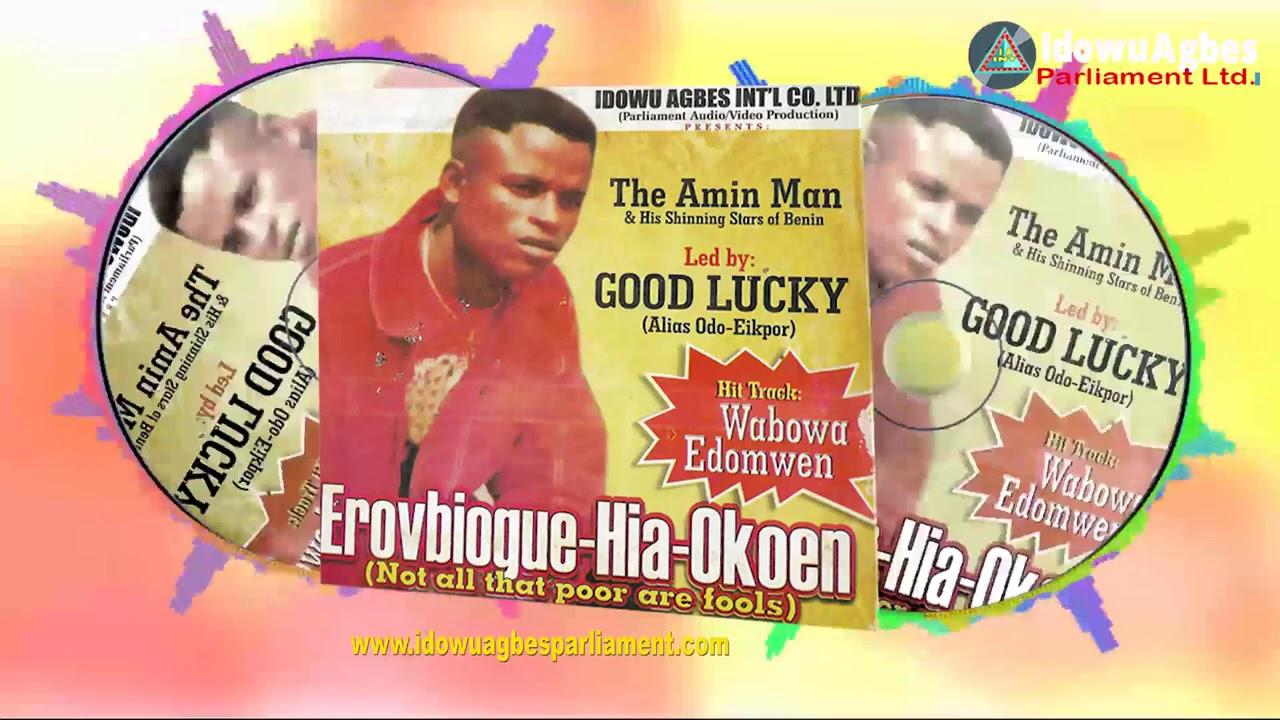 Download BENIN MUSIC:- AMIN MAN - EROVBIOGUE-HIA-OKOEN (Full Amin Man Music Album)