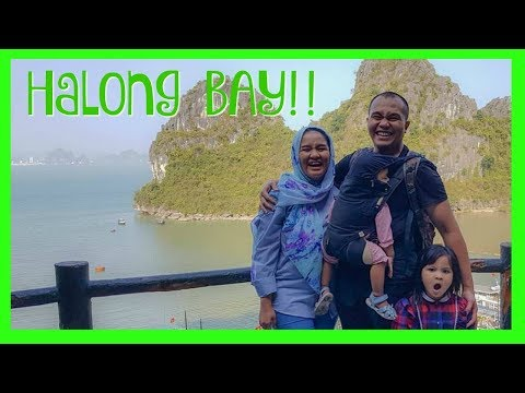 VLOG - Hanoi - Halong Bay - Muslim Family Travel