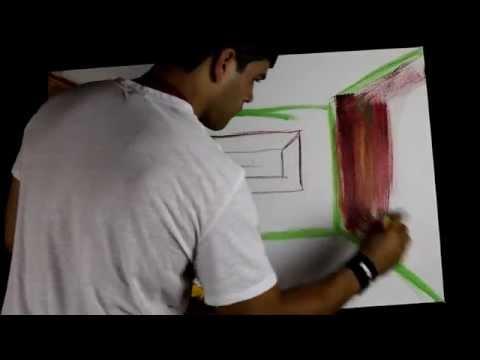 Orel De La MotaI Cant PAint Live Art