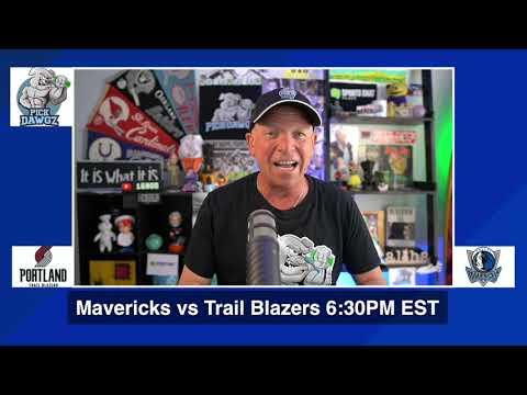 Dallas Mavericks vs Portland Trail Blazers 8/11/20 Free NBA Pick and Prediction NBA Betting Tips