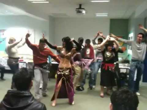 Portsmouth college dancer by  students  2011