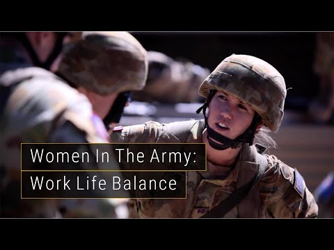 BEING A WOMAN IN THE ARMY