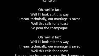Panic At The Disco - I Write Sins Not Tragedies - Lyrics Scrolling