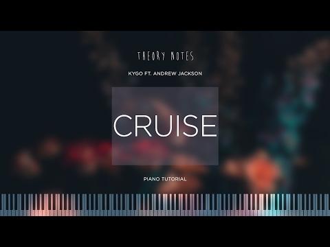 How to Play Kygo ft. Andrew Jackson - Cruise   Theory Notes Piano Tutorial