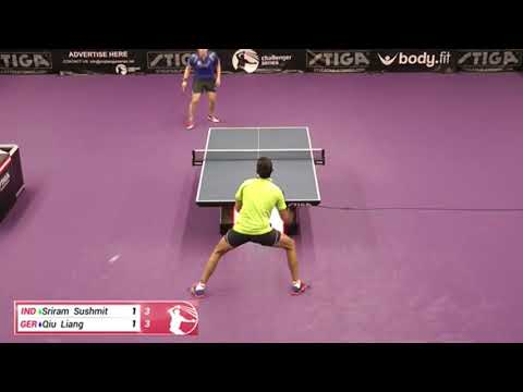Sushmit Sriram Vs Liang Qiu Challenger Series October 7th 2019 Group Match