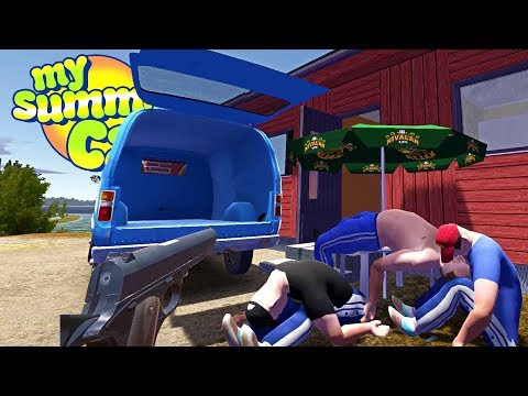 MY SUMMER NEW BEST FRIEND! Moving Job Completed! - My Summer Car Gameplay Highlights Ep 97