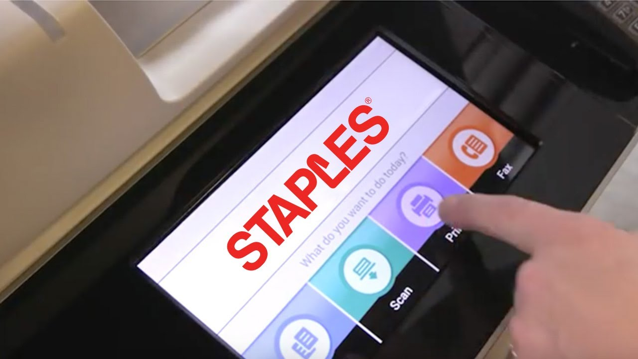 Get more done with xerox self service printing machines at staples