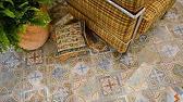 Керамическая плитка пэчворк (patchwork). Примеры коллекций. - YouTube