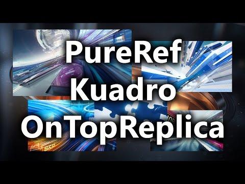 Полезные программы для дизайнера PureRef, Kuadro, OnTopReplica - Копилка 017