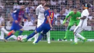 Ivan Rakitic Goal Real Madrid vs Barcelona 1-2 23/4/2017 - HD