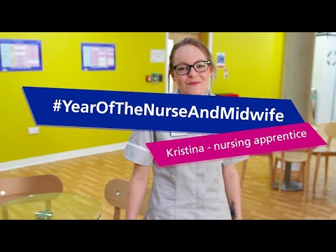 Year Of The Nurse And Midwife | Kristina - Nursing Apprentice