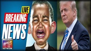 BREAKING: Obama CRYING Like A Baby After Trump BREAKS HIM With HISTORIC Win He Could NEVER Do