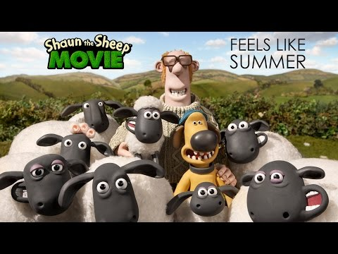 """Feels Like Summer"""" From Shaun the Sheep The Movie"""