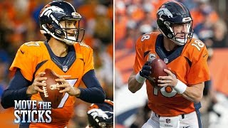 Are the Broncos Better with Brock Osweiler? | Move the Sticks | NFL | Scout Notes