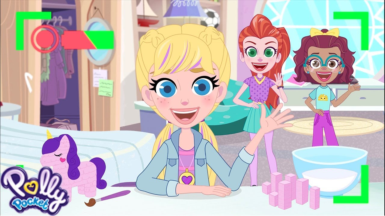"""""""Polly Pocket Passport Adventures"""" Animated Series Release"""