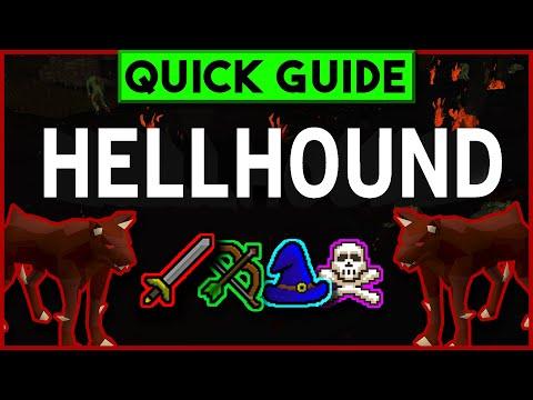 OSRS Hellhounds Slayer Guide 2007 - Melee/Range/Magic + Cannon & Wilderness / Safe Spots (Aug 2019)