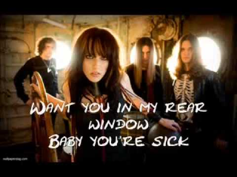 Halestorm bad romance Lyrics