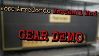 Jose Arredondo MARSHALL MOD | by Eddy Lenz | Gear Demo